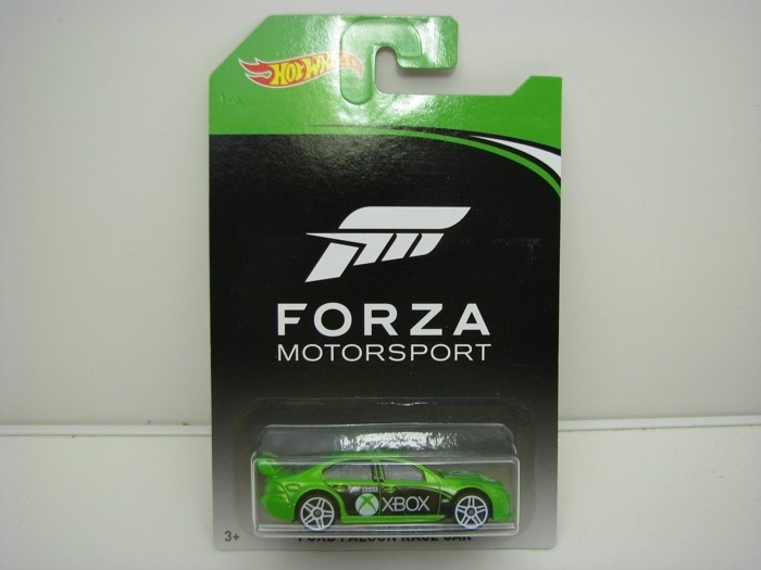 Forza Motors Ford Falcon Race Car Green Hot Wheels DWF31